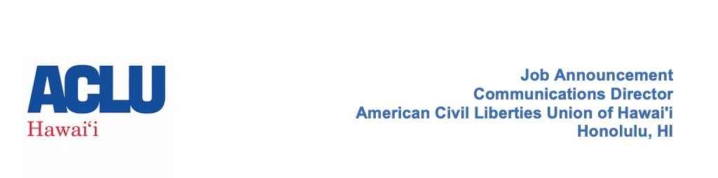 ACLU of Hawaiʻi Logo