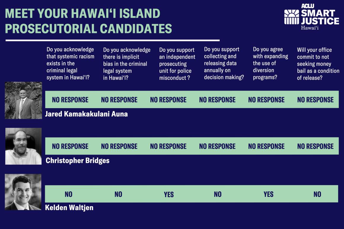 Hawaii Island prosecutorial survey results