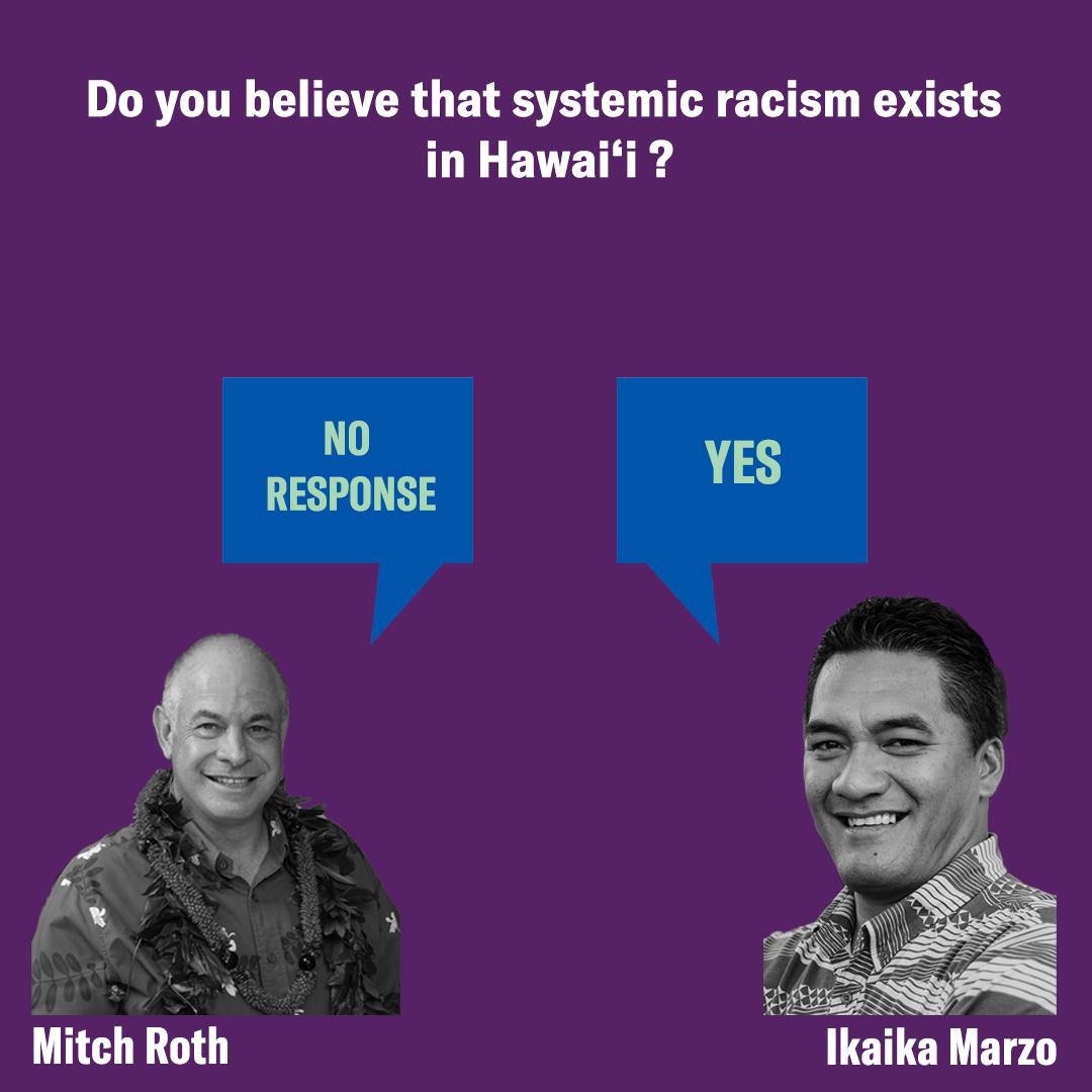 Hawaii Mayor Racism Question