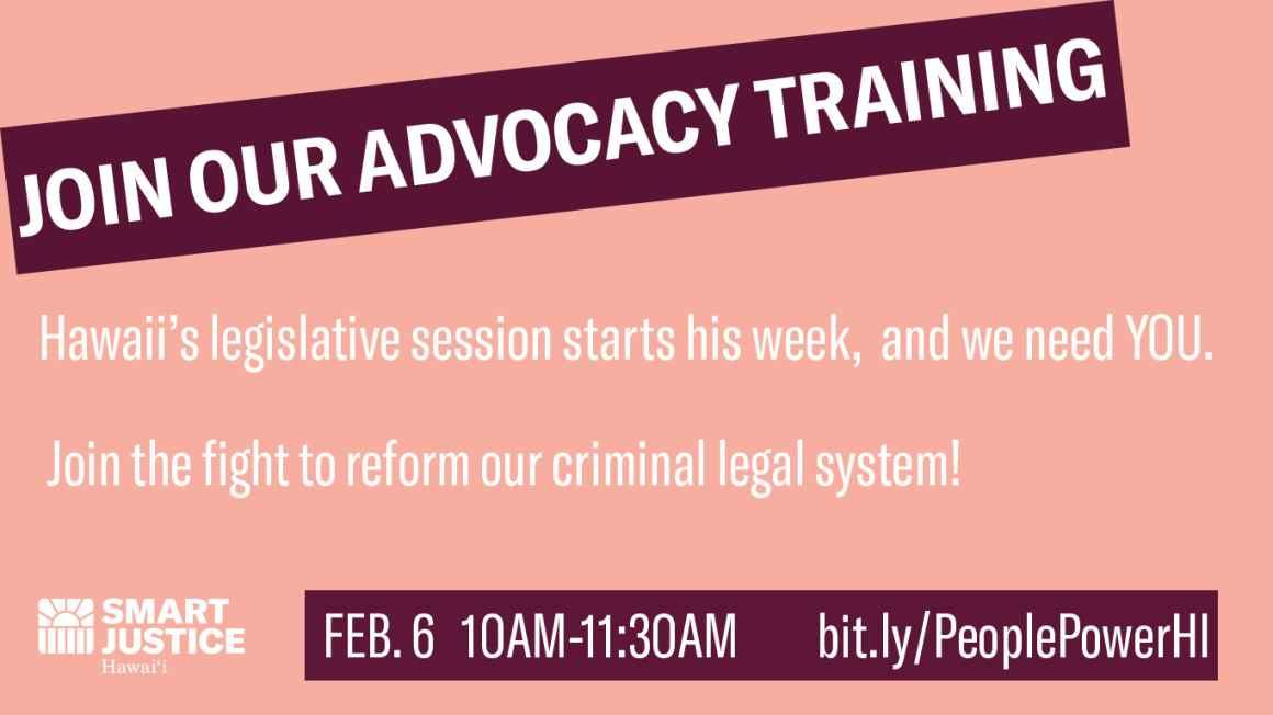 Advocacy Training 2021