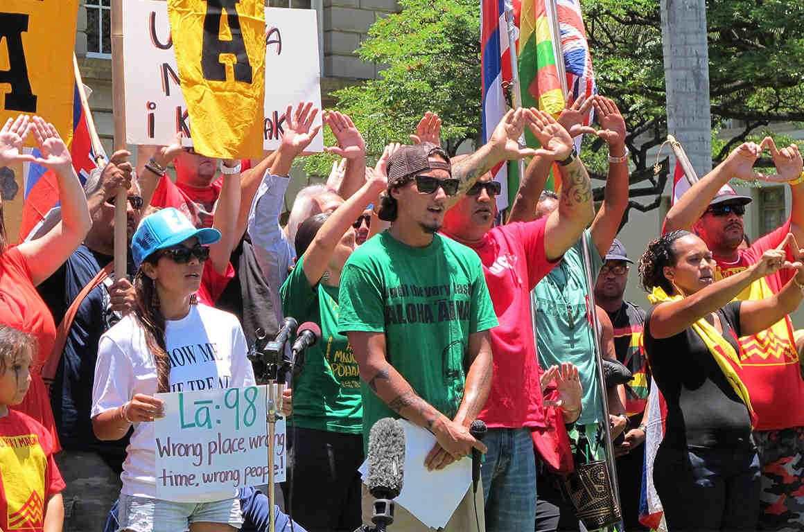 Mauna Kea Demonstrations