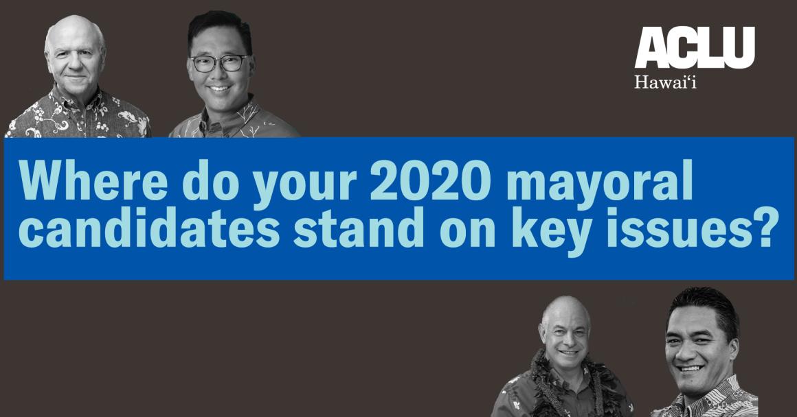 Mayoral Candidates 2020